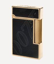 S.T. Dupont James Bond 007 Black & Gold, Ligne 2 Lighter, 016169, New In Box