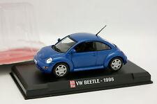 Ixo Presse Auto Plus 1/43 - VW Beetle 1998 Bleue