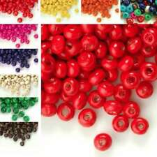 30g(800pcs About) Round Wood Beads Spacer Loose 3x4mm Jewelry Making CAWBSET01