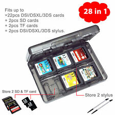 28-in-1 Vedio Game SD Card Case Cover Compatible fit for Nintendo 3DS 3DS XL