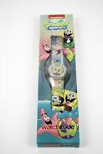 Watchitude Slap On Watch #710 SPONGEBOB AND PATRICK Ltd Ed NOS New Old Stock