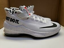"""AQ9975-100 Nike Air Max Infuriate II 2 """"Just Do It"""" color black/white size 7Y"""