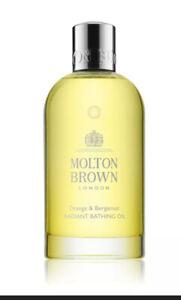 Molton Brown Orange & Bergamot Radiant Bathing Oil (200ml) NEW