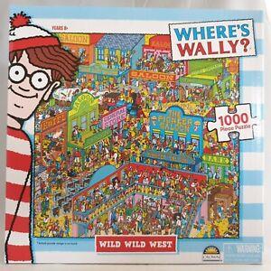 Where's Wally Puzzle Wild Wild West Jigsaw 1000 Piece 60.9x45.7cm (24x18in)