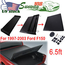 """Trifold Tonneau Cover For 6.5Ft 78"""" Bed Ford F150 1997-2004 Pickup"""