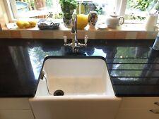 Used black granite kitchen worktop and sink