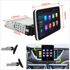 1DIN 9in Android9.0 Quad Core Car GPS WIFI Bluetooth Stereo Radio 16G Rotatable