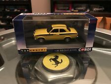 Vanguards Ford Escort Mk1 Mexico Daytona Yellow 1/43 MIB Ltd Ed VA09520