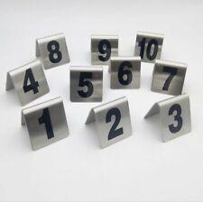 Ristorante, Nr 1-10 Metallo Tischnummerierung Gastronomia Tischnummer