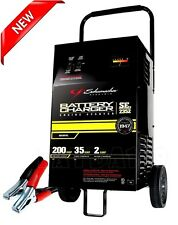Heavy-Duty 12V Car Battery Charger Portable Booster Power Jump Starter 200 Amp