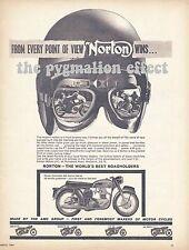Norton Dominator 650 Sports - Original 1964 Single-Page Vintage Magazine Advert