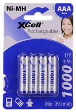4 x XCell AAA Akku´s Accu Ni-MH Micro 1,2V 1000mAh DECT Siemens Telefon 1,2V