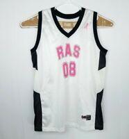 VTG Don Alleson Athletic Mens Jersey Shirt USA Made Cancer Awareness BasketBall