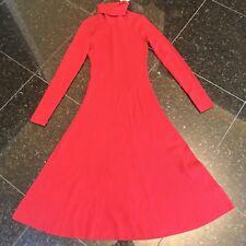 NWT $299 Karen Millen Red Sweater Dress Size S