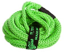 1/2 x 16 Voodoo Offroad GREEN RECOVERY ROPE 11,700 lb 28% stretch KINETIC ENERGY