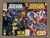 DARKHAWK #1 VF/NM Origin & 1st Appearance of Darkhawk #50 Rare Last Issue VG/F