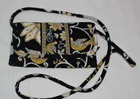 Vera Bradley Crossbody Wallet in Retired Yellow Bird Pattern
