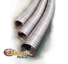 24mm x 0.5m Universal Flexible Stainless Steel Flexi Tube Exhaust Generator Pipe