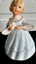 Vintage Musical Birthday Girl Figurine by Berman & Anderson Plays Happy Birthday
