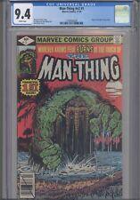 Man Thing V2 #1 CGC 9.4 1989 Marvel Comic Origin of Man-Thing Retold