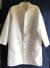 Medline Solid White Doctor or Lab Coat M