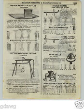 1922 PAPER AD Fairbanks Cotton Weighing Scale Beam John Chatillon Steel Yards