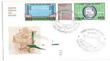 1982 REPUBBLICA BUSTA FDC LAVORO ITALIANO V/795