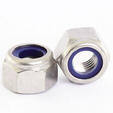 M5 STAINLESS NYLOC LOCK NUTS TYPE P THICK 20 PACK