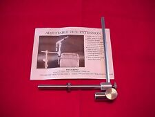 Dyna King Adj Vise Extension Fly Tying GREAT NEW