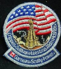 NASA KENNEDY SPACE CENTER GARNEAU SCULLY POWER CRIPPEN SULLIVAN MILITARY PATCH