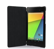 Black Google Nexus 7 2013 Case 2 Gen Smart Cover Case Ultra Slim Auto On-Off