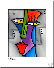 Abstract art print CONTEMPORARY POP colorful MODERN original FIDOSTUDIO