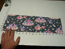 vintage 1950's wrapping paper---CIRCUS PAPER