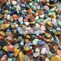 1/2LB Colorful Mixed Natural Assorted bulk tumbled Gem stone mix / 20- 35 mm