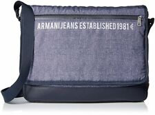 new $260 Armani Jeans Printed Messenger