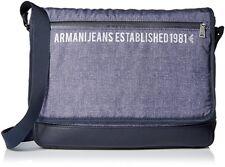 8ea3a1a7a421 new  260 Armani Jeans Printed Messenger