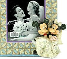 Disney*Mickey-Minnie Mouse Wedding Picture Frame*Jim Shore*New 2019*Nib*6001368