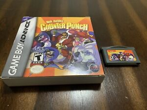 Wade Hixton's Counter Punch (Nintendo Game Boy Advance, 2004) Complete In Box