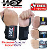 WOZ Weight Lifting Gym Wrist Support Bar Straps Wraps Training Bodybuilding