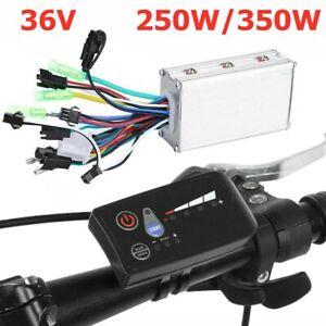 Bürstenloser 36V 250W 350W Motor Controller mit LCD Panel für E-Bike Scooter DE