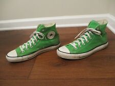 Used Size 9 Fit Like 9.5 - 10 Converse Chuck Taylor All Star Hi Shoes Green
