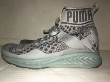 NEW Women Puma Running Ignite Evoknit Metal Quarry / Shade - 18989602 size 6