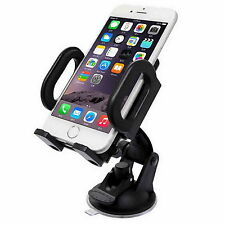 Universal 360 Degree Cellphone Car Mount Holder Stand Bracket on Windshield