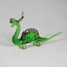 Dinosaur Collectible Animal Figurine Blown glass Lampwork Handmade Vintage