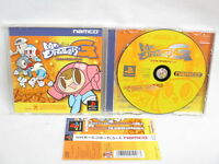 PS1 MR DRILLER G Great with SPINE CARD * Playstation Japan Game p1