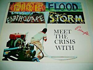 1984 THE CRISIS MASTER GENERATOR / WATER PUMPS. SKYBOY