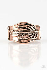 Fly Home - Copper Ring Paparazzi Jewelry Accessories