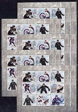 10x Sport - NHL Hockey Stars - imperf - Privat Local Issue [PL55] not MNH