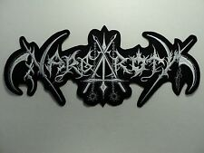 NARGAROTH   EMBROIDERED BACK PATCH