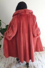 Nerzmantel Pelzmantel Nerz rot SWINGER 💞 Pelliccia visone fourrure Mink Coat